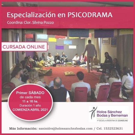 ESPECIALIZACIÓN EN PSICODRAMA
