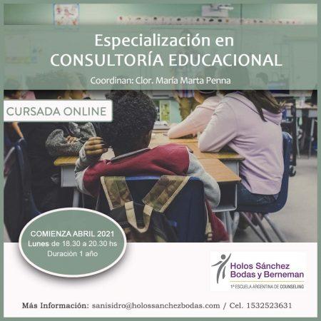 ESPECIALIZACION EN CONSULTORIA EDUCACIONAL