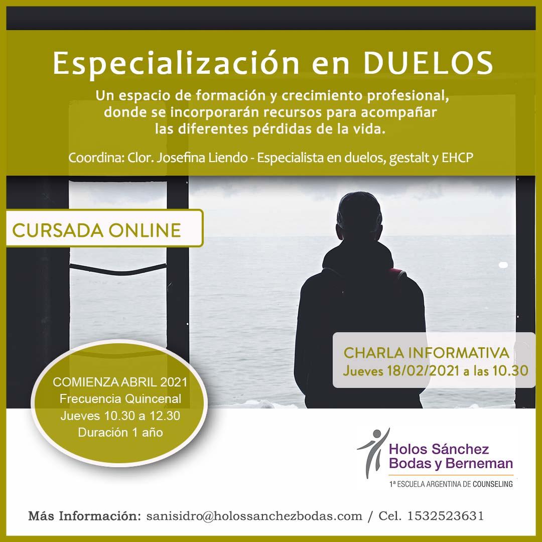 Especialización en Duelos