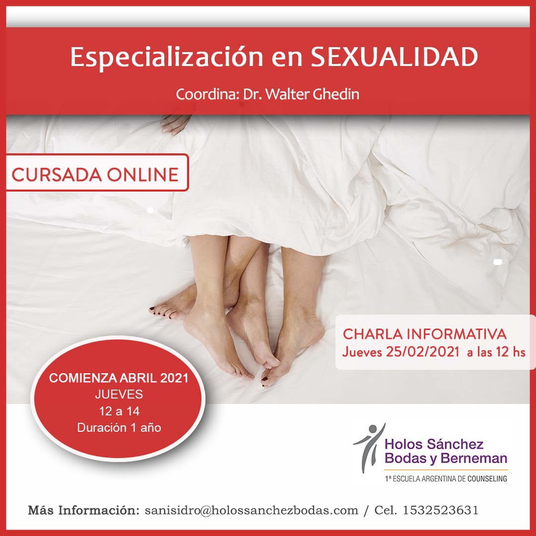 Especialización en Sexualidad